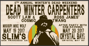 dead winter carpenters may 2017 facebook event banner