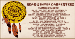 dead winter carpenters summer 2017 facebook event banner